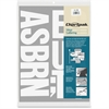 "Chartpak Vinyl Letters - 58 Capital Letters - Self-adhesive - Easy to Use - 4"" Height - White - Vinyl - 1 / Pack"