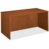 "Basyx by HON BW Series Rectangular Top Desk Shell - 60"" x 36"" x 29"" - Beaded Edge - Material: Veneer, Wood - Finish: Bourbon Cherry"