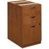 "Basyx by HON BW Series Box/Box/File Pedestal - 15.6"" x 22"" x 27.8"" - 3 x Box Drawer(s), File Drawer(s) - Beaded Edge - Material: Veneer, Wood - Finish: Bourbon Cherry"