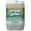 Simple Green Industrial Cleaner and Degreaser - Concentrate Liquid Solution - 5 gal (640 fl oz) - Original Scent - 1 Each - White