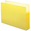 "Smead Colored File Pockets - Legal - 8 1/2"" x 14"" Sheet Size - 5 1/4"" Expansion - Tyvek - Yellow - Recycled - 1 Each"