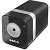 "Elmer's 1700 Series Electric Pencil Sharpener - Desktop - 1 Hole(s) - 4"" Height x 3.5"" Width x 8.1"" Depth - Polystyrene - Walnut"