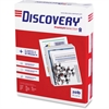 "Discovery Multipurpose Paper - Letter - 8.50"" x 11"" - 20 lb Basis Weight - 0% Recycled Content - 97 Brightness - 5000 / Carton - White"