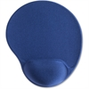 "Compucessory Gel Mouse Pad - 9"" x 10"" x 1"" Dimension - Blue - Gel"