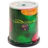 Compucessory CD Recordable Media - CD-R - 52x - 700 MB - 100 Pack Spindle - 120mm - 1.33 Hour Maximum Recording Time