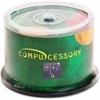 Compucessory CD Recordable Media - CD-R - 52x - 700 MB - 50 Pack Spindle - 120mm - 1.33 Hour Maximum Recording Time