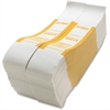 Sparco $1000 Bill Strap - 1000 Wrap(s) - Kraft - Yellow