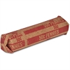 Sparco Flat $.50 Pennies Coin Wrapper - 1000 Wrap(s) - 60 lb Paper Weight - Kraft - Red