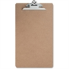 "Sparco Clipboard - 9"" x 15.50"" - Hardboard - Brown"