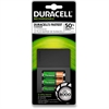 Duracell 15-Minute Charger - 15 Minute Charging - 120 V AC, 230 V AC Input - 1.2 V DC Output - 4 - AA, AAA