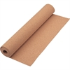 "Quartet® Cork Roll - 28"" Height x 24"" Width - Brown Natural Cork Surface - 1 / Each"