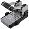 """CARL Extra Heavy-Duty Two-Hole Punch - 2 Punch Head(s) - 100 Sheet Capacity - 1/4"""" Punch Size - Blue"""