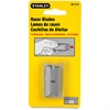 "Stanley Razor Blades - 5.88"" Length - StyleSnap-off - Carbon Steel - 10 / Pack"