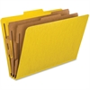 "Pendaflex Classification Folder - 2"" Folder Capacity - Legal - 8 1/2"" x 14"" Sheet Size - 2"" Expansion - 6 Fastener(s) - 2"" Fastener Capacity, 1"" Fastener Capacity - 2/5 Tab Cut - 2 Divider(s) - 20 pt."