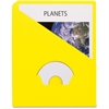 "Pendaflex Essentials Slash Pocket Project Folder - Letter - 8 1/2"" x 11"" Sheet Size - 11 pt. Folder Thickness - Yellow - 25 / Pack"