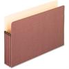 "Pendaflex Earthwise File Pocket - Legal - 8 1/2"" x 14"" Sheet Size - 3 1/2"" Expansion - Red Fiber - Manila - 25 / Box"