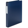 "Wilson Jones Poly Hanging Ring Binder - Letter - 8 1/2"" x 11"" Sheet Size - 175 Sheet Capacity - 3 x Round Ring Fastener(s) - 1"" Fastener Capacity for Folder - Poly - Blue - 1 Each"