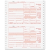 "TOPS 1099 Misc. Forms - 4 Part - Carbonless Copy - 8"" x 5.50"" Sheet Size - White Sheet(s) - 24 / Pack"