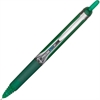 PRECISE V7 Rolling Ball Pen - Medium Point Type - 0.7 mm Point Size - Refillable - Green Water Based Ink - Green Barrel - 1 Each