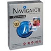 "Navigator Platinum Office Multipurpose Paper - Letter - 8.50"" x 11"" - 28 lb Basis Weight - 0% Recycled Content - Smooth - 99 Brightness - 2500 / Carton - Bright White"