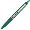 PRECISE V5RT Rolling Ball Pen - Fine Point Type - 0.5 mm Point Size - Needle Point Style - Refillable - Green Water Based Ink - Green Barrel - 1 Each