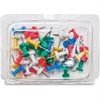 "Gem Office Products Products Push Pin Caddy - 3.3"" Width - 40 Pack - Assorted - Plastic, Steel"