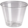 Dixie Crystal Clear Cup - 9 oz - 50 / Pack - Clear - Plastic - Cold Drink