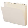 """Smead Monthly Folder Sets - Letter - 8 1/2"""" x 11"""" Sheet Size - 3/4"""" Expansion - 1/5 Tab Cut - Assorted Position Tab Location - 11 pt. Folder Thickness - Manila - Recycled - 12 / Set"""