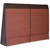 "Kleer-Fax Expanding Wallet - Legal - 8 1/2"" x 14"" Sheet Size - 5 1/4"" Expansion - Redrope - Red - Recycled - 1 Each"