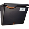OIC Security Wall File With Wall Panel - Wall Mountable - Black - Plastic - 1Each