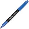 Integra Fine Point Permanent Marker - Fine Point Type - Point Point Style - Blue - 1 Dozen