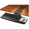 "3M Easy Height Adjustable Keyboard Tray - 25.5"" Width x 12"" Depth - Black"