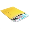 "Jiffy Utility Mailer - Document - #4 - 9.50"" Width x 13.25"" Length - Peel & Seal - Kraft - 100 / Carton - Golden"