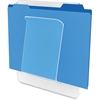 "Deflect-o File/Chart Holder - 10.5"" Height x 10"" Width x 2"" Depth - Wall Mountable - Clear - Plastic - 1Each"