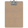 "OIC Letter Archboard Clipboard - 2"" Clip Capacity - 9"" x 15.50"" - Lever Arch - Brown"