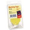 "Avery Tag Pak Marking Tags - 2.75"" Length x 1.68"" Width - Rectangular - String Fastener - 100 / Pack - Yellow"
