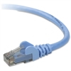 Belkin Cat.6 Patch Cable - Category 6 - Patch Cable - 3 ft - 1 Pack - 1 x RJ-45 Male Network - 1 x RJ-45 Male Network - Blue