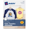 "Avery Iron-on Transfer Paper - Letter - 8.50"" x 11"" - Matte - 5 / Pack"