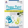 "Pacon Fingerpaint Paper - 50 Sheets - Plain - 11"" x 16"" - White Paper - 1 / Pack"