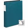 "Samsill 17658 Top Performance DXL Reference Binder - 1 1/2"" Binder Capacity - Letter - 8 1/2"" x 11"" Sheet Size - 350 Sheet Capacity - 3 x D-Ring Fastener(s) - 1 Inside Front Pocket(s) - Vinyl - Teal -"