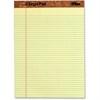 "Tops The Legal Pad 75370 Pad - 50 Sheets - Printed - Double Stitched - 16 lb Basis Weight - Letter 8.50"" x 11"" - Canary Paper - 1 / Each"