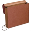 """Pendaflex Expansion Standard Redrope Wallet - Letter - 8 1/2"""" x 11"""" Sheet Size - 700 Sheet Capacity - 3 1/2"""" Expansion - Redrope - Red Fiber - 10 / Box"""