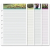 "Day-Timer Desk Garden Path Note Pad - 5.50"" x 8.50"""