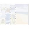 "Day-Timer Coastlines 13188 Notepad - 24 Sheets - Printed - 5.50"" x 8.50"" - Recycled - 1 / Each"