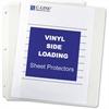 "C-Line Side Loading Sheet Protector - Letter 8.50"" x 11"" - Rectangular - Vinyl - 50 / Box - Clear"""