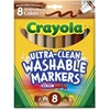 Crayola Multicultural Marker - Conical Point Style - Assorted - 8 / Set