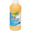 Crayola Washable Paint - 16 oz - 1 Each - Peach