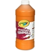 Crayola Premier Tempera Paint - 2 lb - 1 Each - Orange