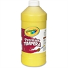 Crayola Premier Tempera Paint - 2 lb - 1 Each - Yellow