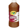 Crayola Premier Tempera Paint - 2 lb - 1 Each - Brown